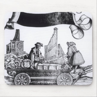 A Musical Carriage Mouse Pad