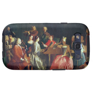 A Musical Evening (oil on canvas) Samsung Galaxy SIII Cover