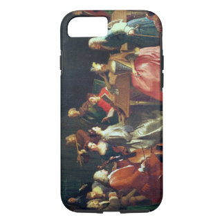 A Musical Evening (oil on canvas) iPhone 8/7 Case