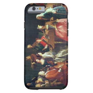 A Musical Evening (oil on canvas) Tough iPhone 6 Case