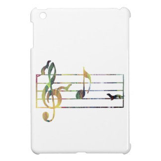 'A' Musical Note Conquered By Ferrets iPad Mini Cover
