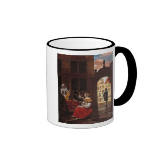 A Musical Party, 1677 Ringer Mug