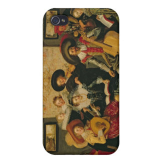 A Musical Party, c.1625 Cover For iPhone 4