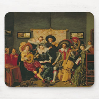 A Musical Party, c.1625 Mouse Pad