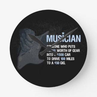 A Musician is… Wall Clocks
