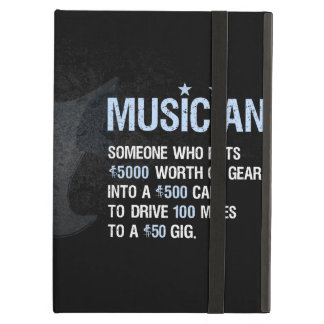 A Musician is… iPad Air Covers