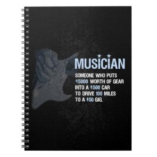 A Musician is… Notebook