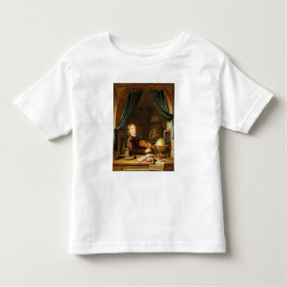 A Musician Playing a Violin by a Draped Casement Toddler T-shirt