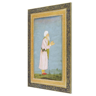 A Muslim Religious Figure, from the Small Clive Al Canvas Print