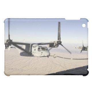 A MV-22 Osprey refuels midflight Cover For The iPad Mini