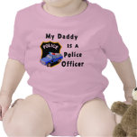 A My Daddy Is A Police Officer Rompers