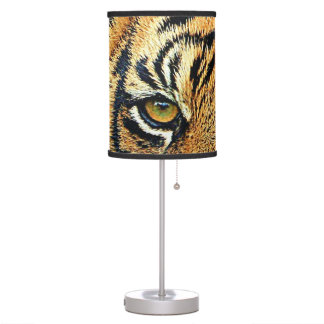 A Mysterious Tiger Table Lamp