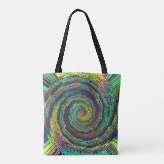 A Mystic Burst of Colors Tote Bag
