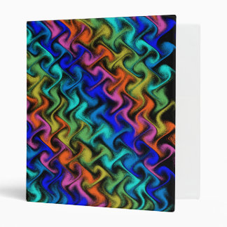 A Mystical Abstraction 3 Ring Binder