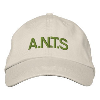 A.N.T.S EMBROIDERED BASEBALL CAPS