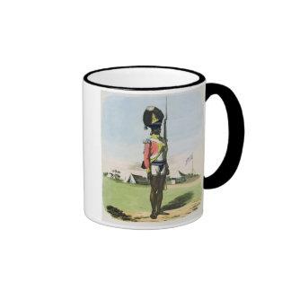A Naigue of the Bombay Battalion, plate 28 from 'O Coffee Mug