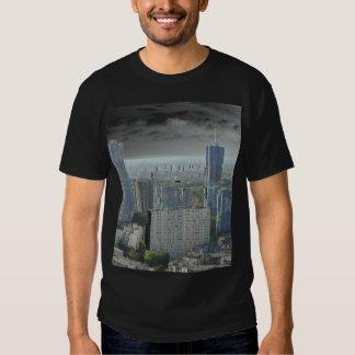 à Nanterre vue de la défense 20 de Pablo del cité Camisas