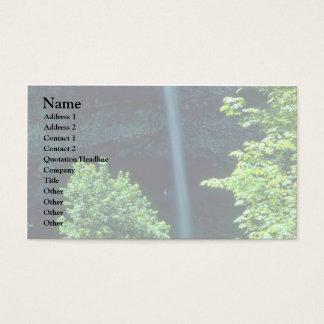 A Narrow Fall Business Card