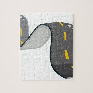 A narrow road jigsaw puzzles