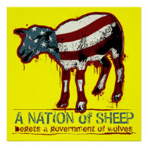 A Nation of Sheep Poster
