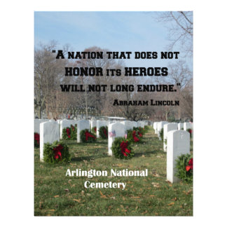 A nation that does not honor its heroes letterhead