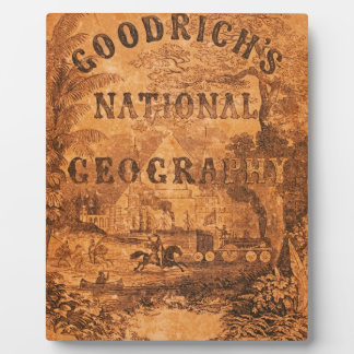 A National Geography, for Schools … with a Globe M Display Plaques