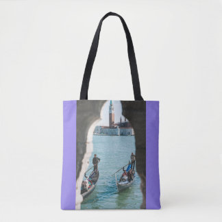 A natural frame in Venice Tote Bag