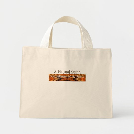 A Natural Sistah Mini Tote Bag