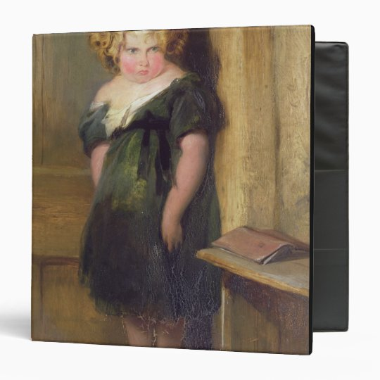 A Naughty Child (oil on canvas) Binder