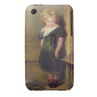 A Naughty Child (oil on canvas) iPhone 3 Case-Mate Cases