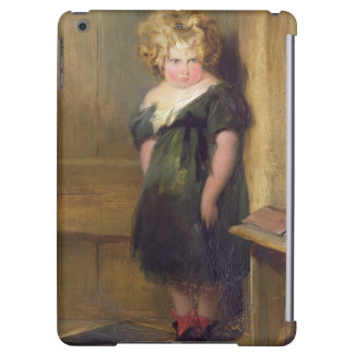 A Naughty Child (oil on canvas) iPad Air Cover