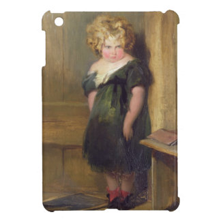 A Naughty Child (oil on canvas) iPad Mini Covers
