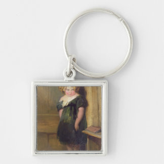 A Naughty Child (oil on canvas) Keychain
