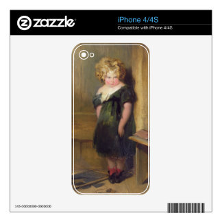 A Naughty Child (oil on canvas) Skins For iPhone 4S