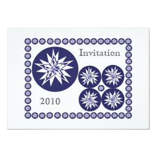 A Nautical star explosion, Invitation, 2010 Card