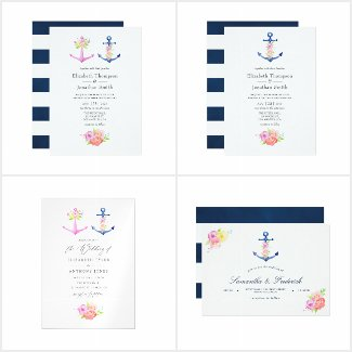 A Nautical Wedding