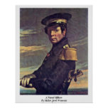 A Naval Officer By Millet (Ii) Jean-Francois Print