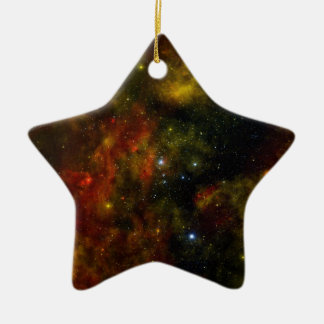 A Nearby Stellar Cradle Ceramic Ornament