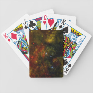 A Nearby Stellar Cradle Bicycle Playing Cards