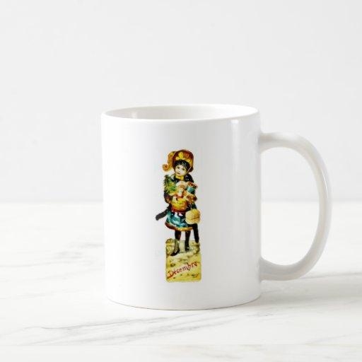 A neatly dressed girl standing hand full of christ classic white coffee mug