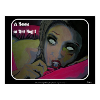 'A Need in the Night' Poster