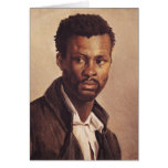 A Negro, 1823-24 Card