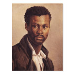 A Negro, 1823-24 Postcard