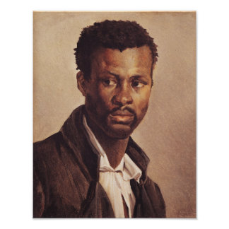A Negro, 1823-24 Poster
