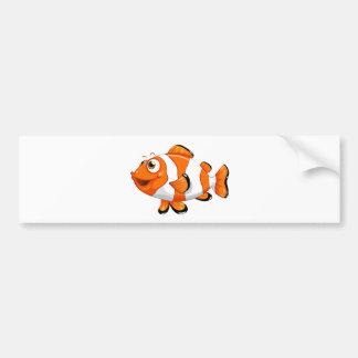 A nemo fish bumper sticker
