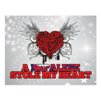 A Nepalese Stole my Heart Postcards