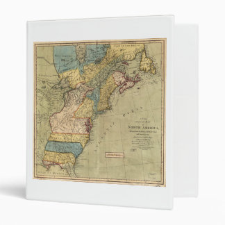 A new and accurate map of North America (1771) Binder