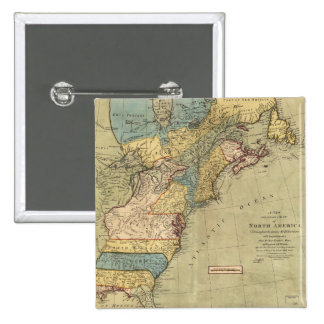 A new and accurate map of North America (1771) Button