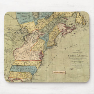 A new and accurate map of North America (1771) Mouse Pad