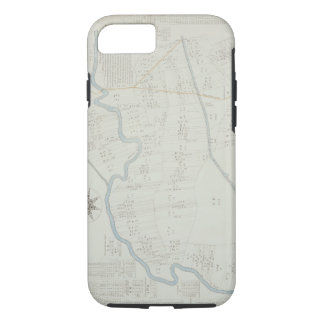 A New and Correct Map of Hackney Marsh, 1745 (lith iPhone 7 Case
